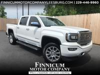 New Price! Clean CARFAX. White Frost Tricoat 2016 GMC