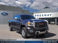 Onyx Black 2016 GMC Sierra 3500HD SLT 4WD Allison 1000
