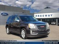 Iridium Metallic 2016 GMC Terrain SLT AWD 6-Speed