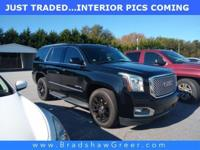 Recent Arrival! 2016 GMC Yukon Denali CARFAX One-Owner.