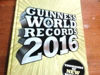 2016 Guiness Book of World Records HardBack. Gifted to
