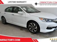 This 2016 Honda Accord Sedan 4dr EX features a 2.4L 4
