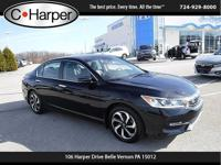 Come see this 2016 Honda Accord Sedan EX-L. Its