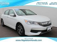 **2016 Honda Accord LX**, *NO HASSLE-NO HAGGLE PRICING,