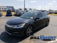 Come see this 2016 Honda Accord Sedan Sport. Its