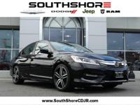 CARFAX One-Owner. 2016 Honda Accord Sport Black 35/26
