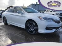 CARFAX One-Owner. This well equipped 2016 Honda Accord