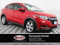 CATCH ATTENTION IN THIS SPORTY RED CERTIFIED 2016 HONDA