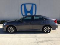 Come see this 2016 Honda Civic Sedan EX. Its Variable