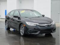 New Price! This 2016 Honda Civic EX in I features: EX