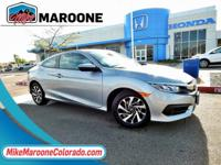 Black w/Cloth Seat Trim. 2016 Honda Civic LX 2.0L I4