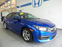 2016 Honda Civic. New Price! 2016 Honda Civic LX FWD