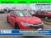 Honda Certified! Features: Navigation, Leather, Crash