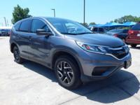 We are excited to offer this 2016 Honda CR-V. When you