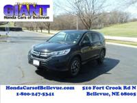 This outstanding example of a 2016 Honda CR-V SE is