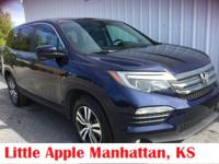 Versatile and comfortable. The Honda Pilot gives you