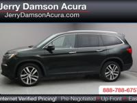 This 2016 Honda Pilot Touring is offered to you for