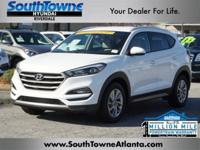 Winter White 2016 Hyundai Tucson Eco FWD 7-Speed