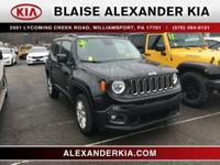2016 Jeep Renegade Latitude 2.4L I4 MultiAir ONE OWNER,