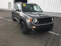 Clean CARFAX. Recent Arrival! 2016 Jeep Renegade