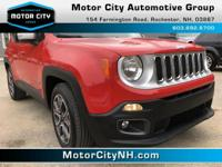 This is one great Jeep Renegade.  Jeep has outdone