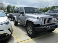 Introducing the 2016 Jeep Wrangler JK Unlimited! It