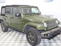 Sarge Green 2016 Jeep Wrangler Unlimited Sahara 4WD