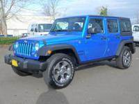 Check out this gently-used 2016 Jeep Wrangler Unlimited