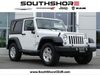 CARFAX One-Owner. Clean CARFAX. 2016 Jeep Wrangler