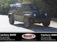 1 Owner, Clean Carfax! This 2016 Jeep Wrangler