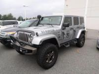 This 2016 Jeep Wrangler Unlimited 75th Anniversary is