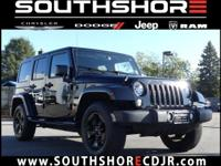 New Price! CARFAX One-Owner. 2016 Jeep Wrangler
