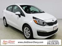 Come see this 2016 Kia Rio LX in Clear White with Beige