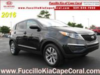 This 2016 Kia Sportage FWD 4dr LX is proudly offered by