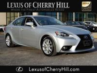 2016 Lexus IS 200t CARFAX One-Owner. Clean CARFAX.