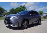We are excited to offer this 2016 Lexus NX 200t. This