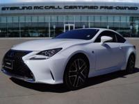 We are excited to offer this 2016 Lexus RC 350. This