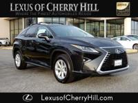 2016 Lexus RX 350 Certified. CARFAX One-Owner. Clean