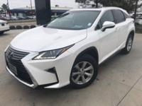 CARFAX One-Owner. White 2016 Lexus RX 350 AWD 8-Speed