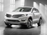 Clean CARFAX. Black 2016 Lincoln MKC Reserve AWD