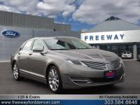 Luxe Metallic 2016 Lincoln MKZ AWD 6-Speed Automatic