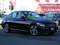 CARFAX One Owner. Clean CARFAX. Black 2016 Mercedes