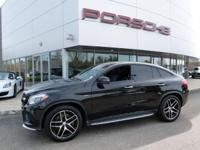 JUST TRADED! GLE450 AMG COUPE FINISHED IN BLACK WITH