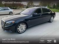 Immaculately maintained and owned 2016 Mercedes-Maybach