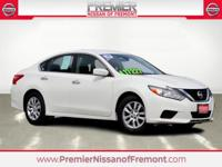 CARFAX One Owner. Clean CARFAX. Pearl White 2016 Nissan