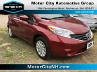 This is one great Nissan Versa Note.  Won't last long!