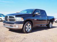 Brilliant Black Crystal Pearlcoat 2016 Ram 1500 Big