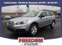 Look at this 2016 Subaru Outback 2.5i. Its Variable