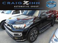 CarFax 1-Owner, This 2016 Toyota 4Runner Limited will