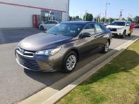 This 2016 Toyota Camry LE is proudly offered by Serra